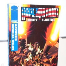 Cómics: SUPERPATRIOT LIBERTY & JUSTICE IMAGE WORLD COMICS - PLANETA OFERTA. Lote 270608338