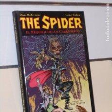 Cómics: THE SPIDER EL REQUIEM DE LOS CARROÑEROS GENE COLAN TOMO CARTONÉ - PLANETA OFERTA. Lote 270623153