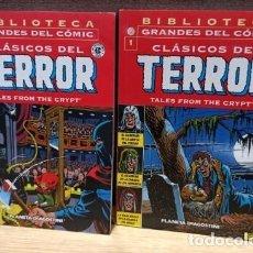 Cómics: CLÁSICOS DEL TERROR Nº 1 Y Nº2 - PLANETA - 2003 - PÁGINAS BLANCO Y NEGRO. Lote 274274528