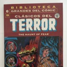 Cómics: BIBLIOTECA GRANDES DEL CÓMIC - CLÁSICOS DEL TERROR - LOTE 11 NUMEROS. Lote 275963333
