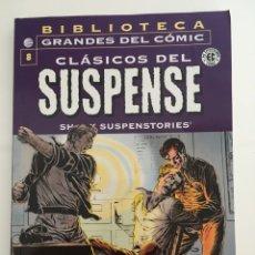 Cómics: BIBLIOTECA GRANDES DEL CÓMIC - CLÁSICOS DEL SUSPENSE - COMPLETA. Lote 275964943