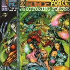 Cómics: CYBER FORCE CODENAME STRYKE FORCE OPPOSING FORCES COMPLETA 1 Y 2 - PLANETA - SUB02M. Lote 276093618