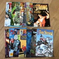Cómics: TOM STRONG 1 -14 COMPLETA ALAN MOORE. Lote 276236203