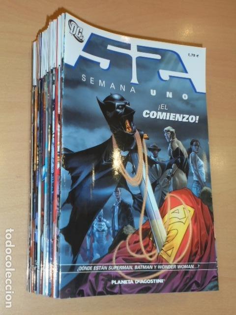 52 CASI COMPLETA SOLO FALTA EL Nº 51 (LA COLECCION CONSTA DE 52 NUMEROS) DC - PLANETA (Tebeos y Comics - Planeta)