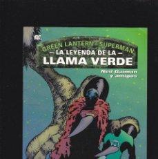 Cómics: LINTERNA VERDE GREEN LANTERN - SUPERMAN - LA LEYENDA DE LA LLAMA VERDE - PRESTIGIO - 48 PP -. Lote 277088348
