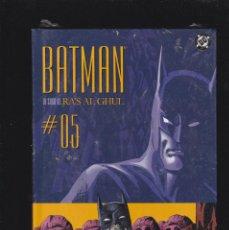 Cómics: BATMAN - LA SAGA DE RA'S AL GHUL - Nº 5 DE 12 - 176 PÁGS - PLANETA DEAGOSTINI -. Lote 277098698