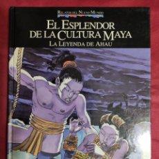 Cómics: RELATOS DEL NUEVO MUNDO. EL ESPLENDOR DE LA CULTURA MAYA. PLANETA. Lote 277288728