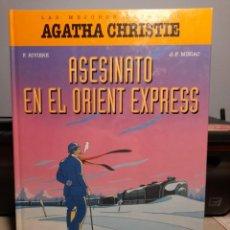 Cómics: COMIC ASESINATO EN EL ORIENT EXPRESS ( AGATHA CHRISTIE ) TAPA DURA. Lote 277643523