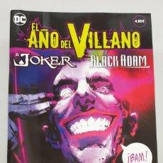 Cómics: EL AÑO DEL VILLANO Nº 3 : EL JOKER - BLACK ADAM / DC - ECC. Lote 277712063