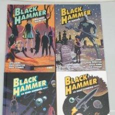 Cómics: BLACK HAMMER ¡ COMPLETA 4 TOMOS ! JEFF LEMIRE - DEAN ORMSTON / ASTIBERRI. Lote 277759248