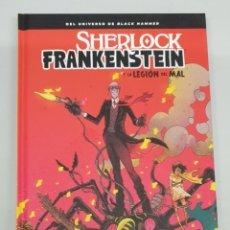 Cómics: SHERLOCK FRANKENSTEIN Y LA LEGION DEL MAL - UNIVERSO BLACK HAMMER / JEFF LEMIRE / ASTIBERRI. Lote 277809093