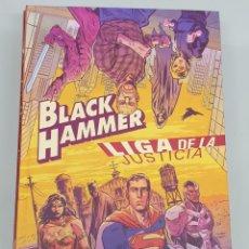 Cómics: BLACK HAMMER / LIGA DE LA JUSTICIA : EL MARTILLO DE LA JUSTICIA / JEFF LEMIRE / ECC. Lote 277821308