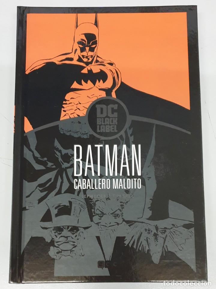 BATMAN : CABALLERO MALDITO / DC BLACK LABEL - JEPH LOEB - TIM SALE / ECC (Tebeos y Comics - Planeta)