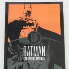 Cómics: BATMAN : CABALLERO MALDITO / DC BLACK LABEL - JEPH LOEB - TIM SALE / ECC. Lote 278233668