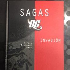 Cómics: COLECCIÓN SAGAS DC N.4 INVASIÓN DC COMICS ( 2006/2007 ). Lote 279461898
