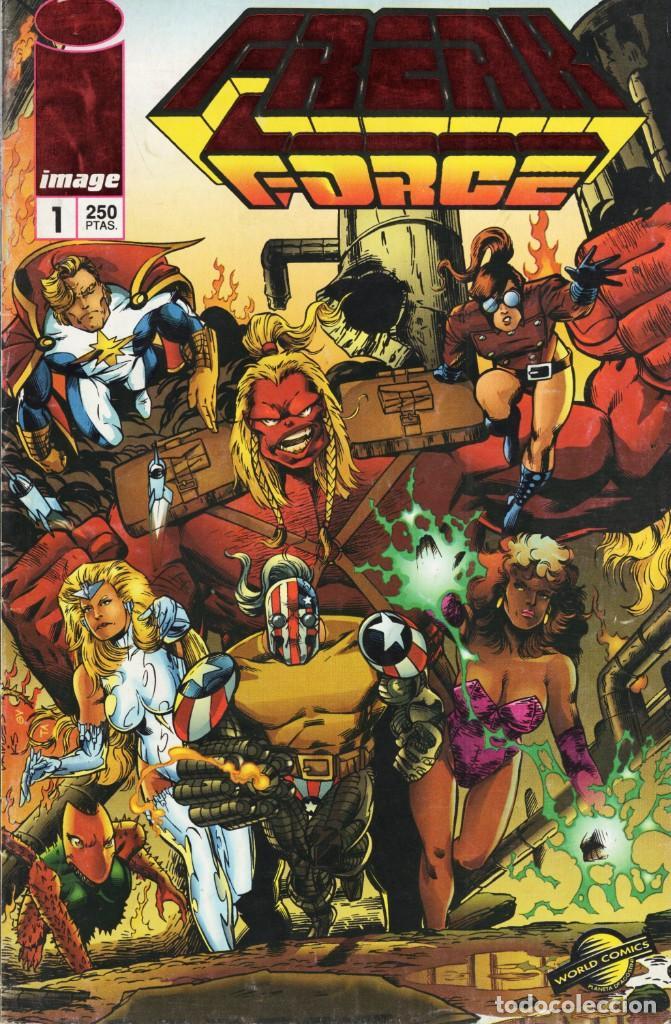 FREAK FORCE Nº 1 - PLANETA - SUB03Q (Tebeos y Comics - Planeta)