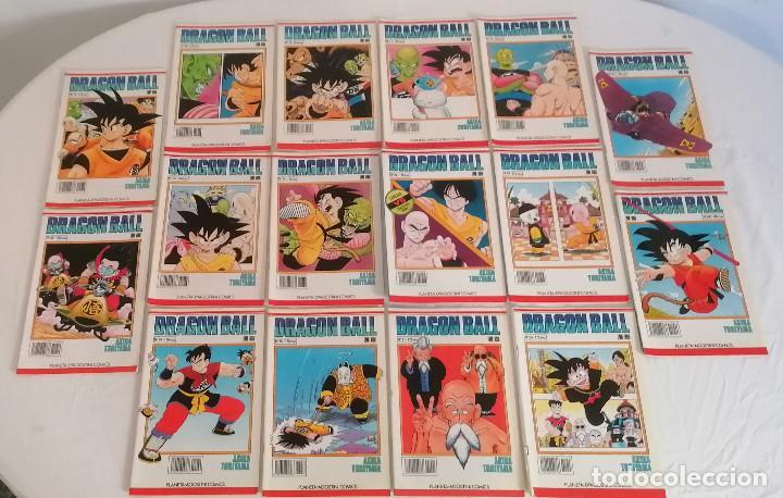 DRAGON BALL LOTE 36 CÓMICS SERIE BLANCA PLANETA AGOSTINI (Tebeos y Comics - Planeta)