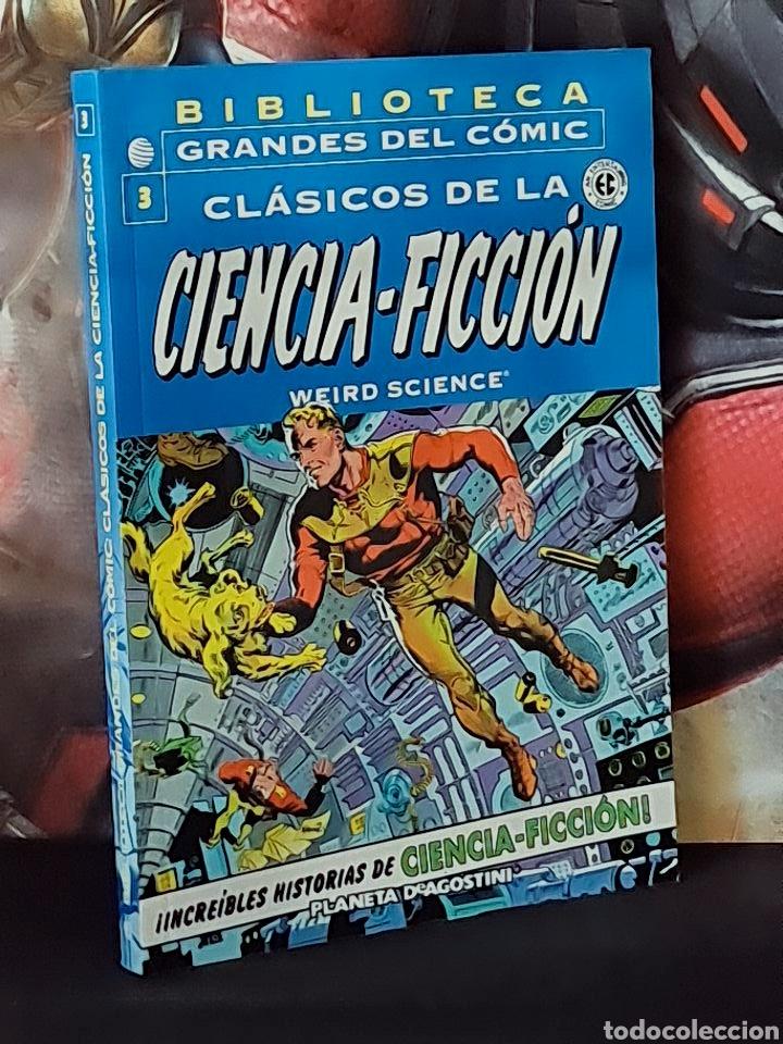 EXCELENTE ESTADO CLASICOS DE LA CIENCIA FICCION 3 BIBLIOTECA GRANDES DEL COMICS PLANETA (Tebeos y Comics - Planeta)