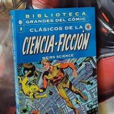 Cómics: EXCELENTE ESTADO CLASICOS DE LA CIENCIA FICCION 3 BIBLIOTECA GRANDES DEL COMICS PLANETA. Lote 288013128