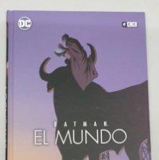 Cómics: BATMAN EL MUNDO / LEE BERMEJO - PACO ROCA / DC - ECC. Lote 288060303