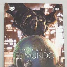 Cómics: BATMAN EL MUNDO / LEE BERMEJO - PACO ROCA / DC - ECC. Lote 288060393