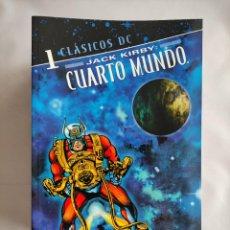 Cómics: CLÁSICOS DC. JACK KIRBY: CUARTO MUNDO #1-10 (COLECCION COMPLETA - 10 TOMOS TAPA BLANDA B/N). Lote 288353153