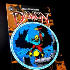 Cómics: DE KIOSCO DEMON MATT WAGNER COMICS PLANETA. Lote 288470113