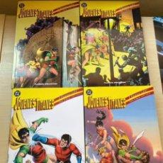 Cómics: CLASICOS DC: JOVENES TITANES 1 AL 4 (COMPLETA). Lote 288475183