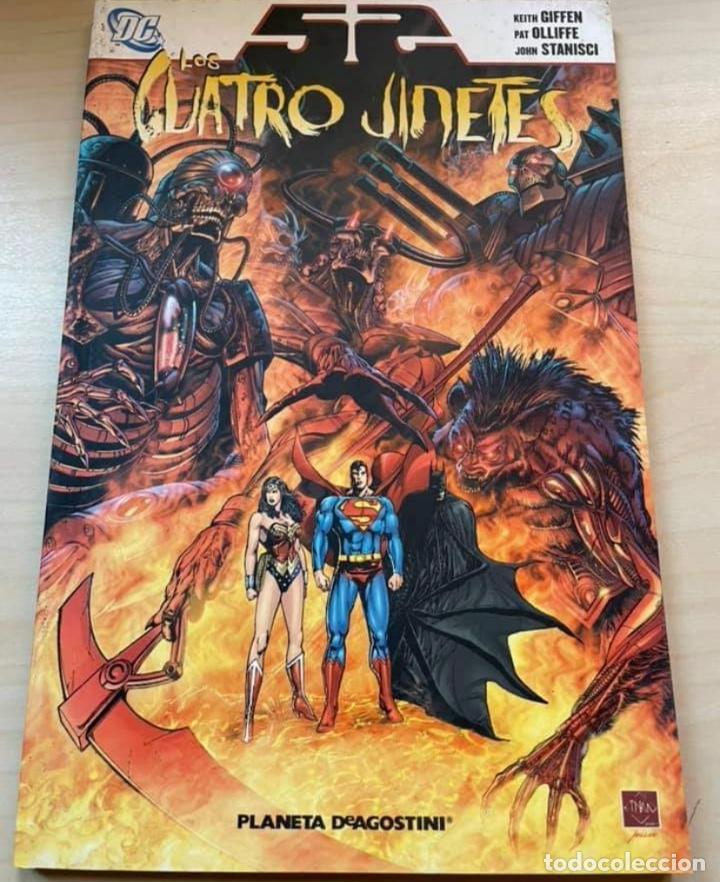 52 LOS CUATRO JINETES (Tebeos y Comics - Planeta)