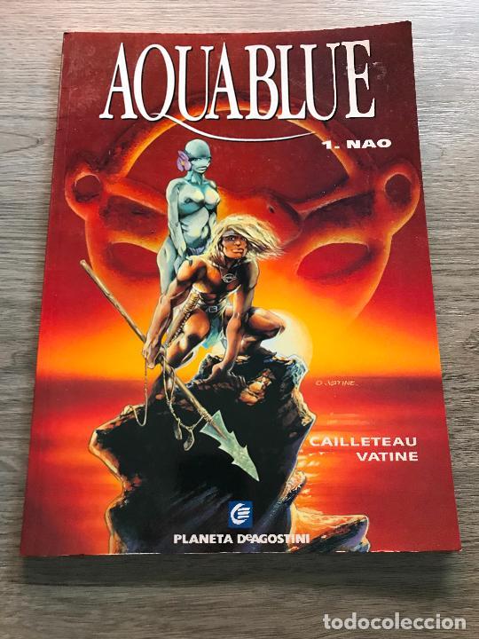AQUABLUE 1.NAO, RÚSTICA, EDITORIAL PLANETA (Tebeos y Comics - Planeta)