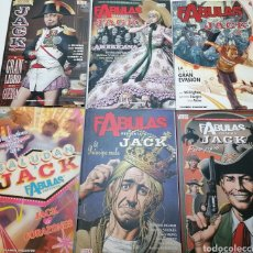 Cómics: LOTE 6 COMICS FÁBULAS EN BUEN ESTADO. Lote 288540968