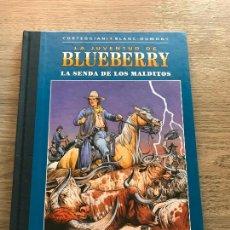 Cómics: LA JUVENTUD DE BLUEBERRY Nº 42, LA SENDA DE LOS MALDITOS , TAPA DURA , EDICIÓN COLECCIONISTA. Lote 288541068