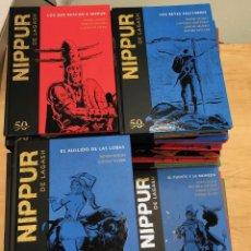 Comics : NIPPUR DE LAGASH. 50 ANIVERSARIO. PLANETA DE AGOSTINI. 2018. COMPLETA. 64 VOLUMENES. IMPECABLE. Lote 288879123