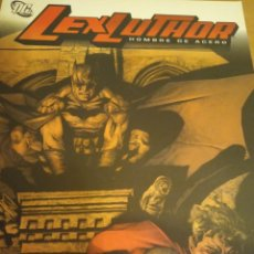 Cómics: LEX LUTHOR. HOMBRE DE ACERO. TOMO. AZZARELLO Y BERMEJO. CÓMICS D.C. Lote 288925513