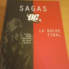 Cómics: LA NOCHE FINAL. SAGAS D.C. KESEL, MARZ, IMMONEN, MCKONE Y BANKS. TOMO. Lote 288926198