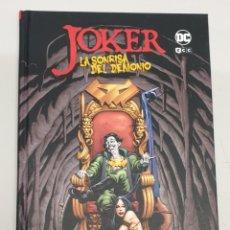 Cómics: JOKER : LA SONRISA DEL DEMONIO / CHUCK DIXON - JIM APARO / DC - ECC. Lote 288966193