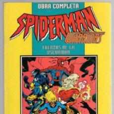 Cómics: SPIDERMAN NEW WARRIORS. OBRA COMPLETA. FUERZAS DE LA OSCURIDAD. FORUM PLANETA 1994. Lote 289228688