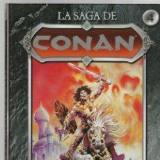 Cómics: LA SAGA DE CONAN. Nº 4. HYBORIA. PLANETA 2008. Lote 289251133
