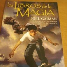 Cómics: EL LIBRO DE LA MAGIA. VÉRTIGO. TOMO. BOLTON, HAMPTON, VESS, JOHNSON. CÓMICS PLANETA. Lote 289420768