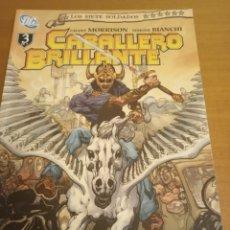 Cómics: LOS SIETE SOLDADOS DE LA VICTORIA. TOMO 3. EL CABALLERO BRILLANTE. CÓMICS D.C PLANETA. Lote 289421718