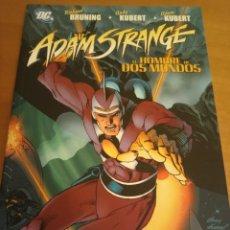 Cómics: ADAM STRANGE. EL HOMBRE DE DOS MUNDOS. TOMO. BRUNINING, A.KUBERT Y AD.KUBERT. VÉRTIGO. PLANETA. Lote 289553948
