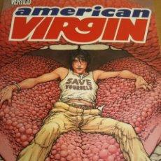 Cómics: AMERICAN VIRGIN. CABEZA. SEAGLE Y CLOOAN. VERTIGO. TOMO. PLANETA.. Lote 289554253