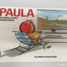 Cómics: PAULA / ALFONSO LOPEZ - XAVIER ROCA/ PLANETA. Lote 289868463