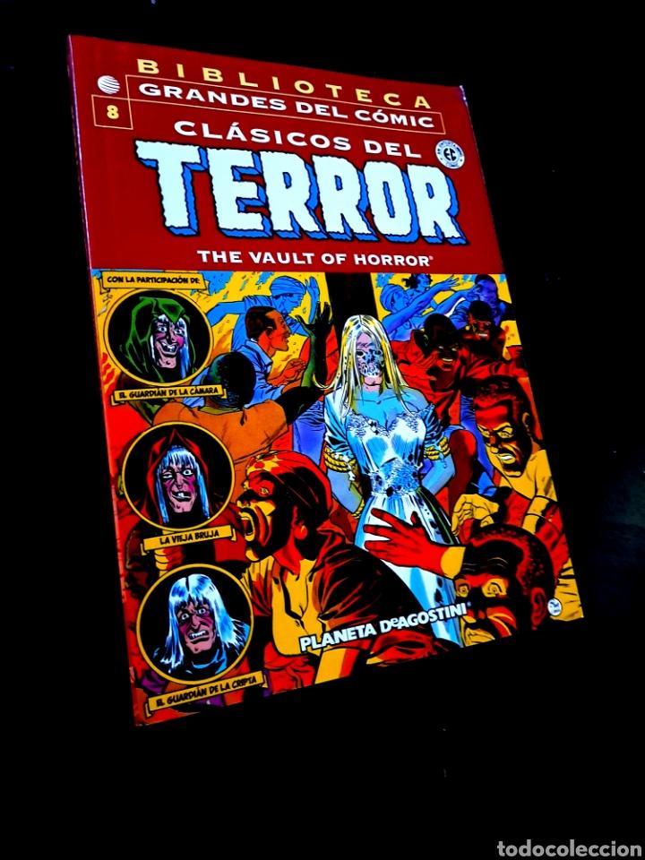 EXCELENTE ESTADO CLASICOS DEL TERROR 8 BIBLIOTECA GRANDES DEL COMIC PLANETA (Tebeos y Comics - Planeta)