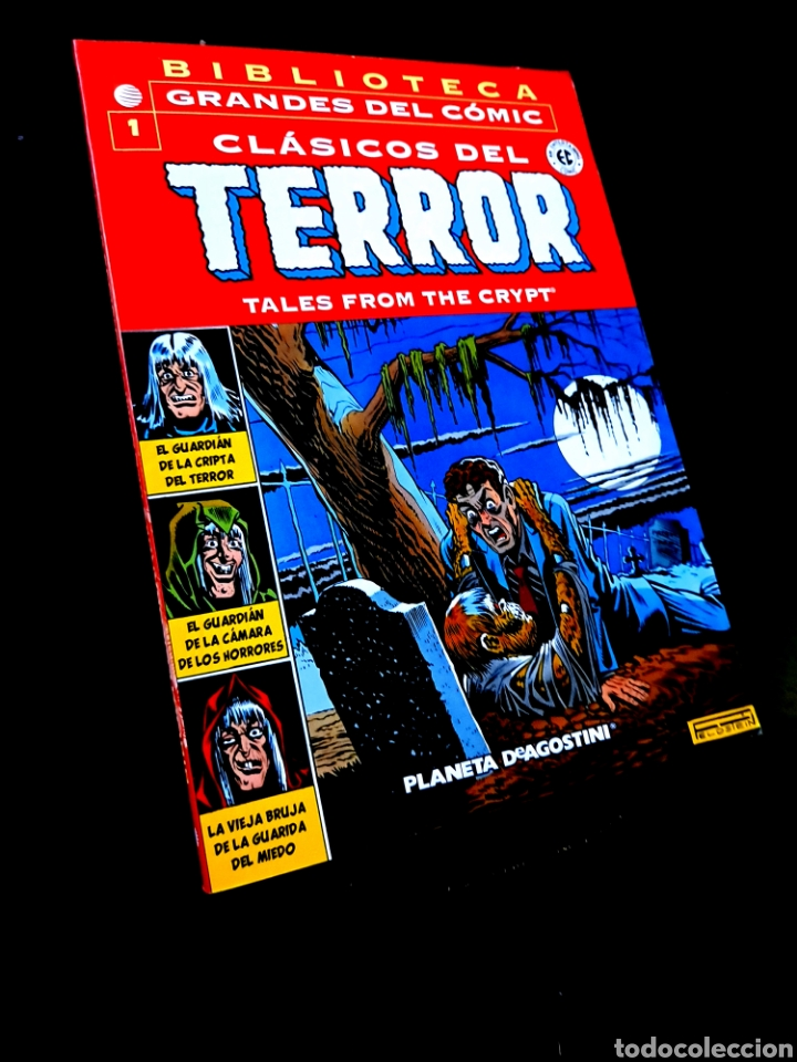 EXCELENTE ESTADO CLASICOS DEL TERROR 1 BIBLIOTECA GRANDES DEL COMIC PLANETA (Tebeos y Comics - Planeta)