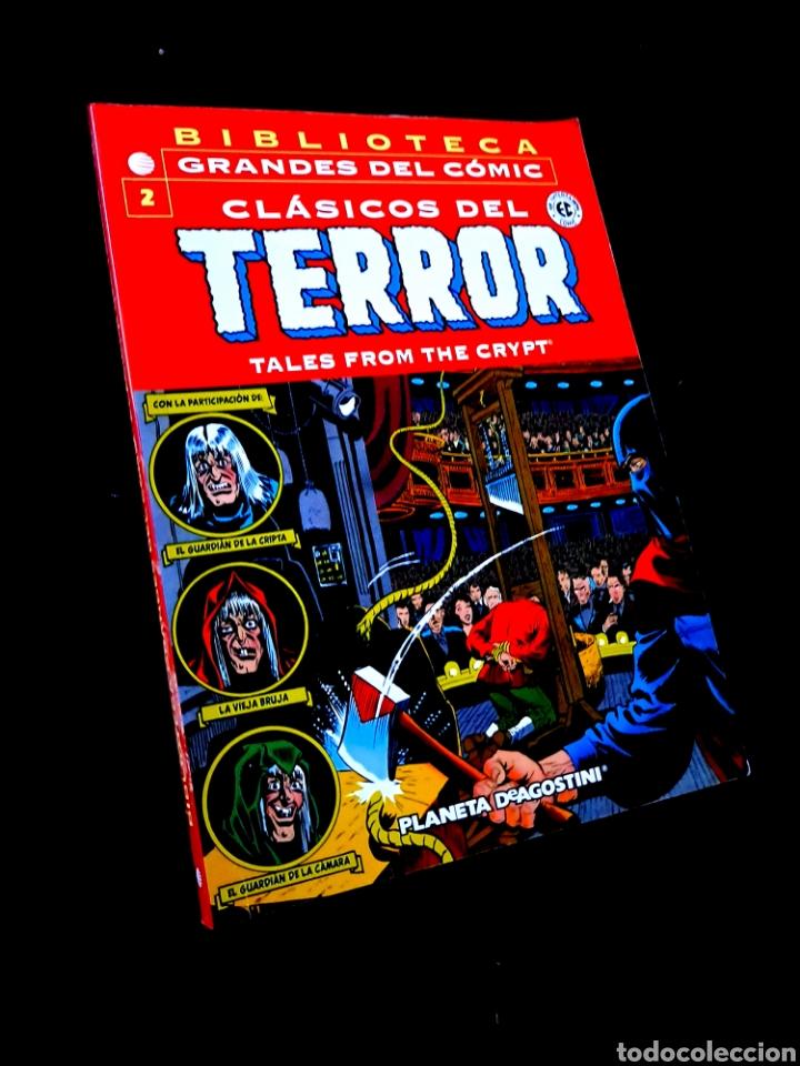 EXCELENTE ESTADO CLASICOS DEL TERROR 2 BIBLIOTECA GRANDES DEL COMIC PLANETA (Tebeos y Comics - Planeta)