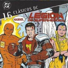 Comics: LEGION DE SUPERHEROES - CLASICOS DC - TOMO 16 - ED. PLANETA - NUEVO A ESTRENAR !!. Lote 294812818