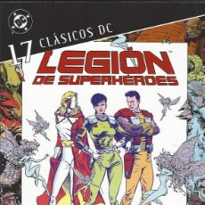 Fumetti: LEGION DE SUPERHEROES - CLASICOS DC - TOMO 17 - ED. PLANETA - NUEVO A ESTRENAR !!. Lote 294814598