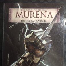 Cómics: MURENA CAPÍTULO CUARTO N.4 LOS QUE VAN A MORIR ( 2003/2021 ). Lote 294950978