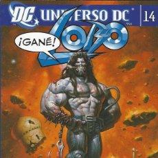 Comics: LOBO - UNIVERSO DC - TOMO 14 - ED- PLANETA - PERFECTO ESTADO !!. Lote 295261733